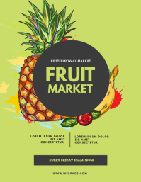Fruit Market Flyer Template