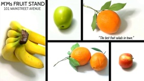 FRUIT SALAD VIDEO TEMPLATE