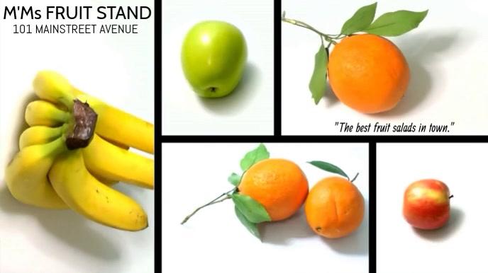 FRUIT SALAD VIDEO TEMPLATE
