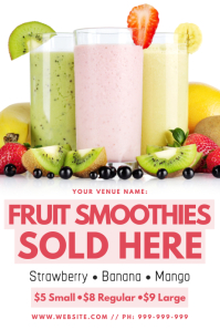 Fruit Smoothie Poster