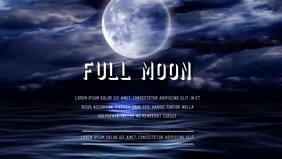 FULL MOON VIDEO AD TEMPLATE