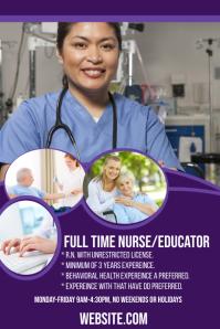 Full Time Nurse Educator Wanted