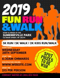 Fun Run & Walk Flyer