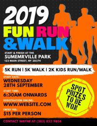 Fun Run & Walk Flyer