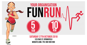 Fun Run Facebook Event Cover