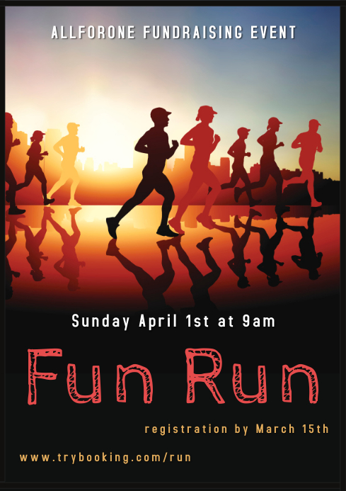 Fun Run Flyer