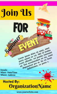 Fun Summer Event Flyer