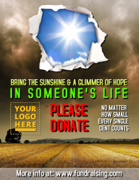 fundraising flyers