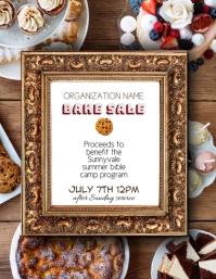 fundraiser bake sale flyer template