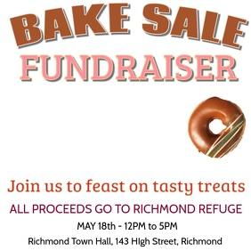 Fundraiser Bake Sale Video Template