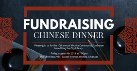 Fundraiser Dinner Chinese Restaurant Banner