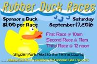 Fundraiser Duck Race