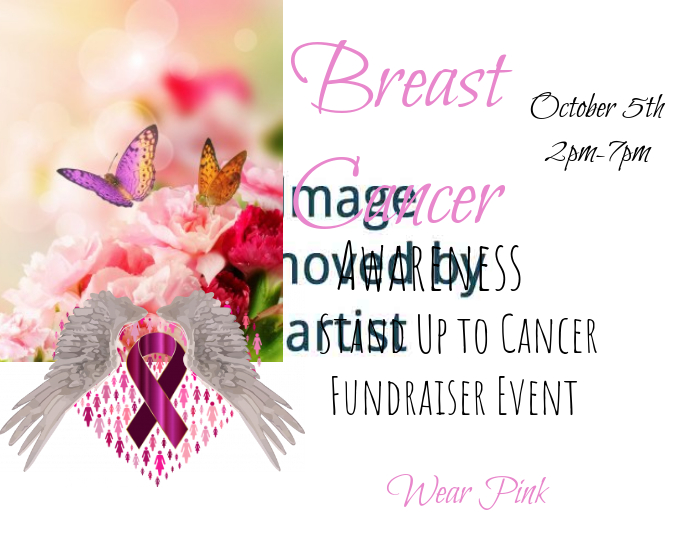 Fundraiser Event Flier
