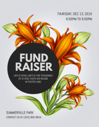 Fundraiser Event Flyer