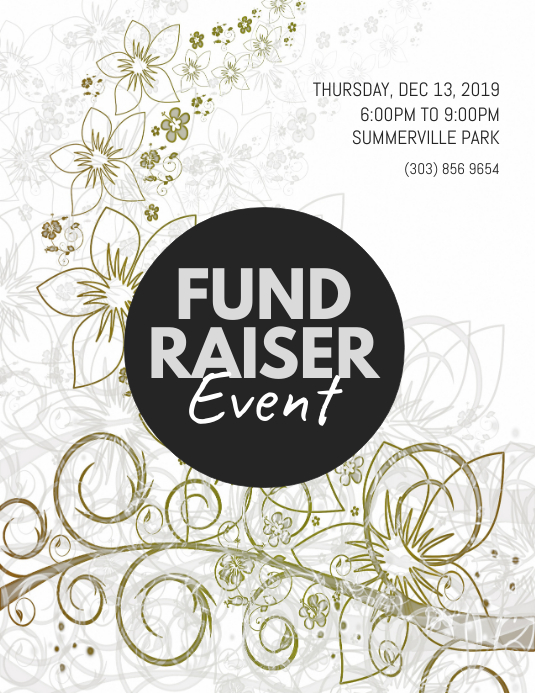 Fundraiser Event Flyer