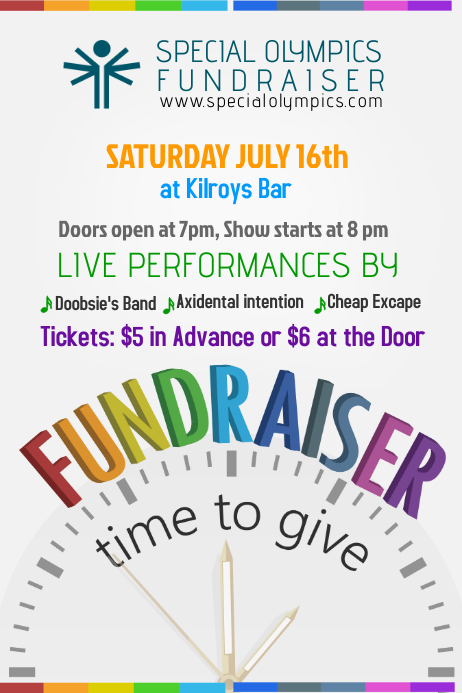 fundraiser flyer template