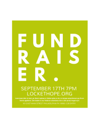 free online fundraising poster maker postermywall