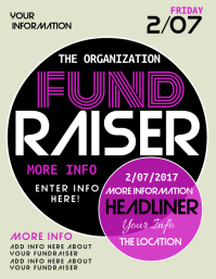fundraising poster templates free