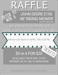 Fundraiser Raffle Flyer/Poster