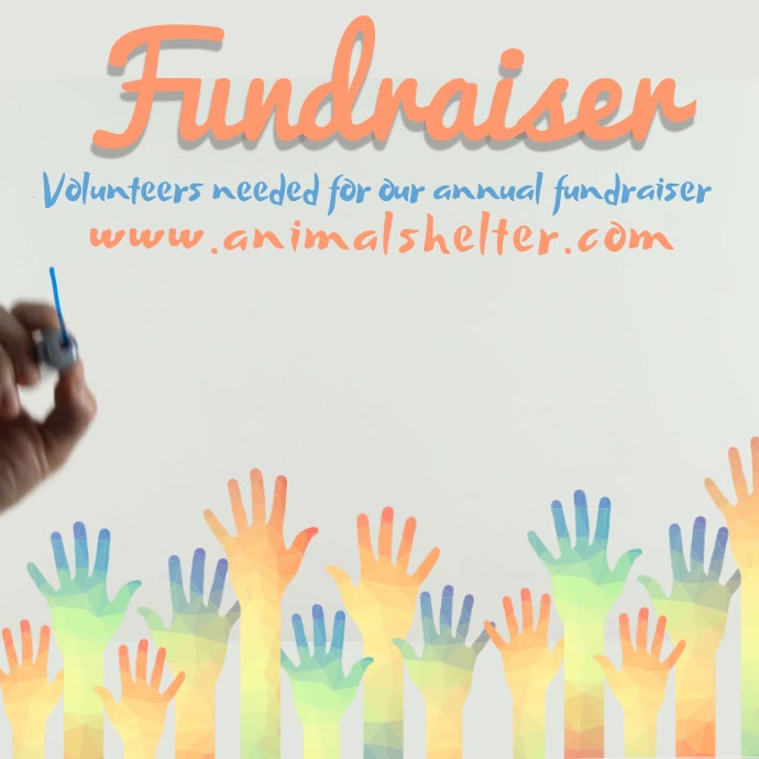 Fundraiser Video Template