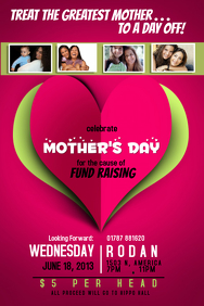 Fundraising Campaign Flyer Template