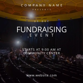 Fundraising Event Motion Poster