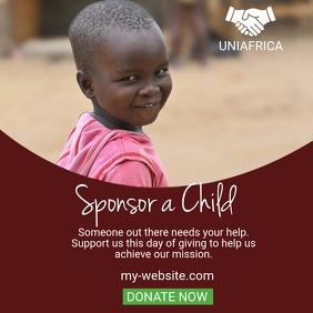 Fundraising Flyer