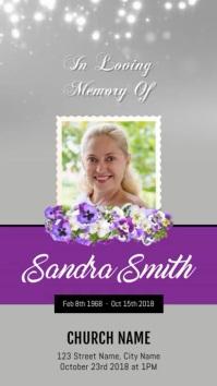Funeral Digital Display Video