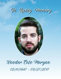 Funeral In Loving Memory Poster