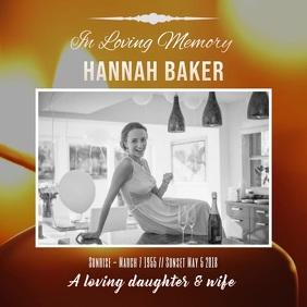 Funeral In loving memory video