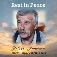 Funeral Rest In Peace Iphosti le-Instagram template
