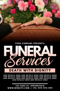 Funeral Services Poster