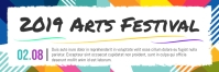 Funky Art Festival Email Header E-mail-overskrift template