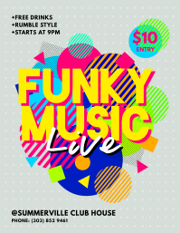 Funky Music Flyer