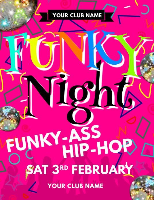 Funky Night Flyer