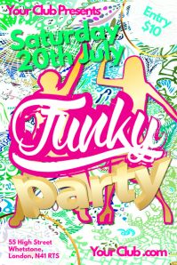 Funky Party Poster