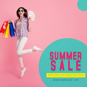 Funky Summer Sale Template