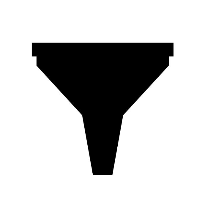 Funnel icon Логотип template