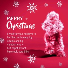 Funny Merry christmas Video Card Wishes Greet