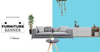 Furniture banner template Gambar Bersama Facebook