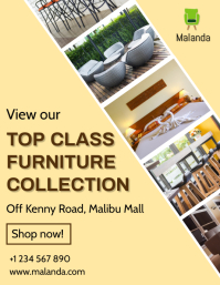Furniture collection Flyer (US Letter) template