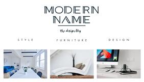 furniture design blog header template