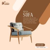 Furniture Instagram Ad template