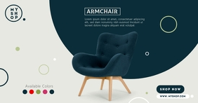 Furniture Product Ad Facebook Shared Image template