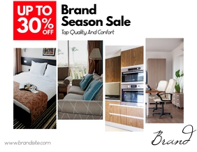 Furniture Products Sale Flyer