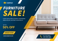 Furniture Sale Banner Ad Template 明信片