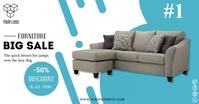 Furniture Sale Post Template Immagine condivisa di Facebook