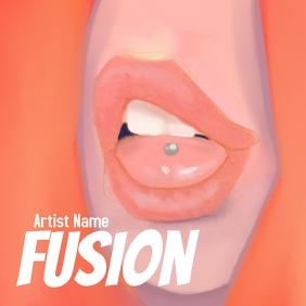 Fusion Album Art template