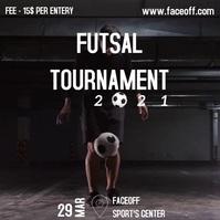 Futsal tournament Instagram Post template