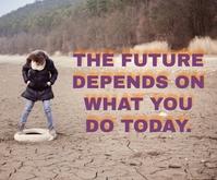 FUTURE AND TODAY QUOTE TEMPLATE Средний прямоугольник